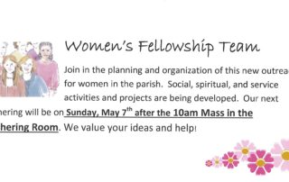 Women's Ministry Invite - April 2017