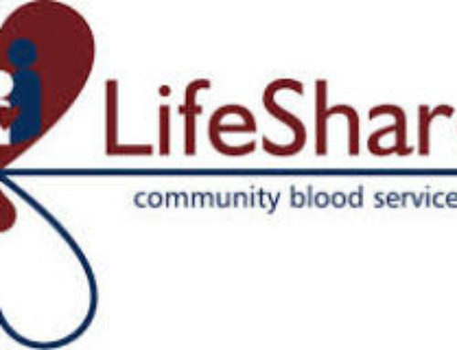 Share the Gift of Life and Donate Blood – Sunday, April 15th