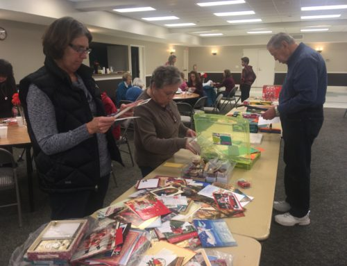 Advent Service Project: Blessing Bags