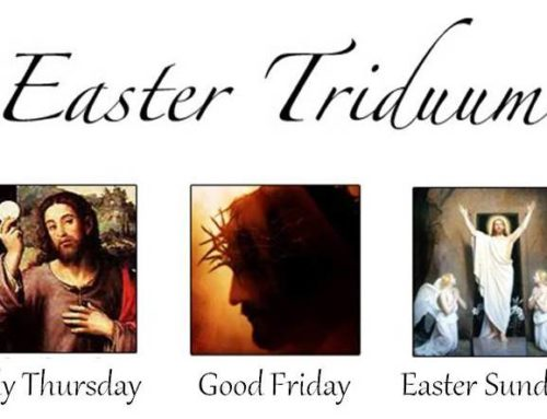 Join Us For the Triduum & Easter Liturgies