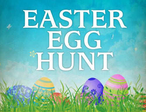 Parish Easter Egg Hunt – Sunday, April 8th