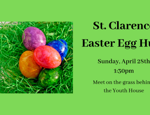 Easter Egg Hunt – Sunday, 4/28 at 1:30pm