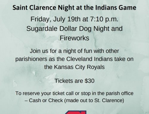 Indians Game Outing – July 19th