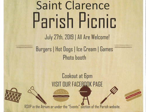 Annual Parish Picnic – July 27th