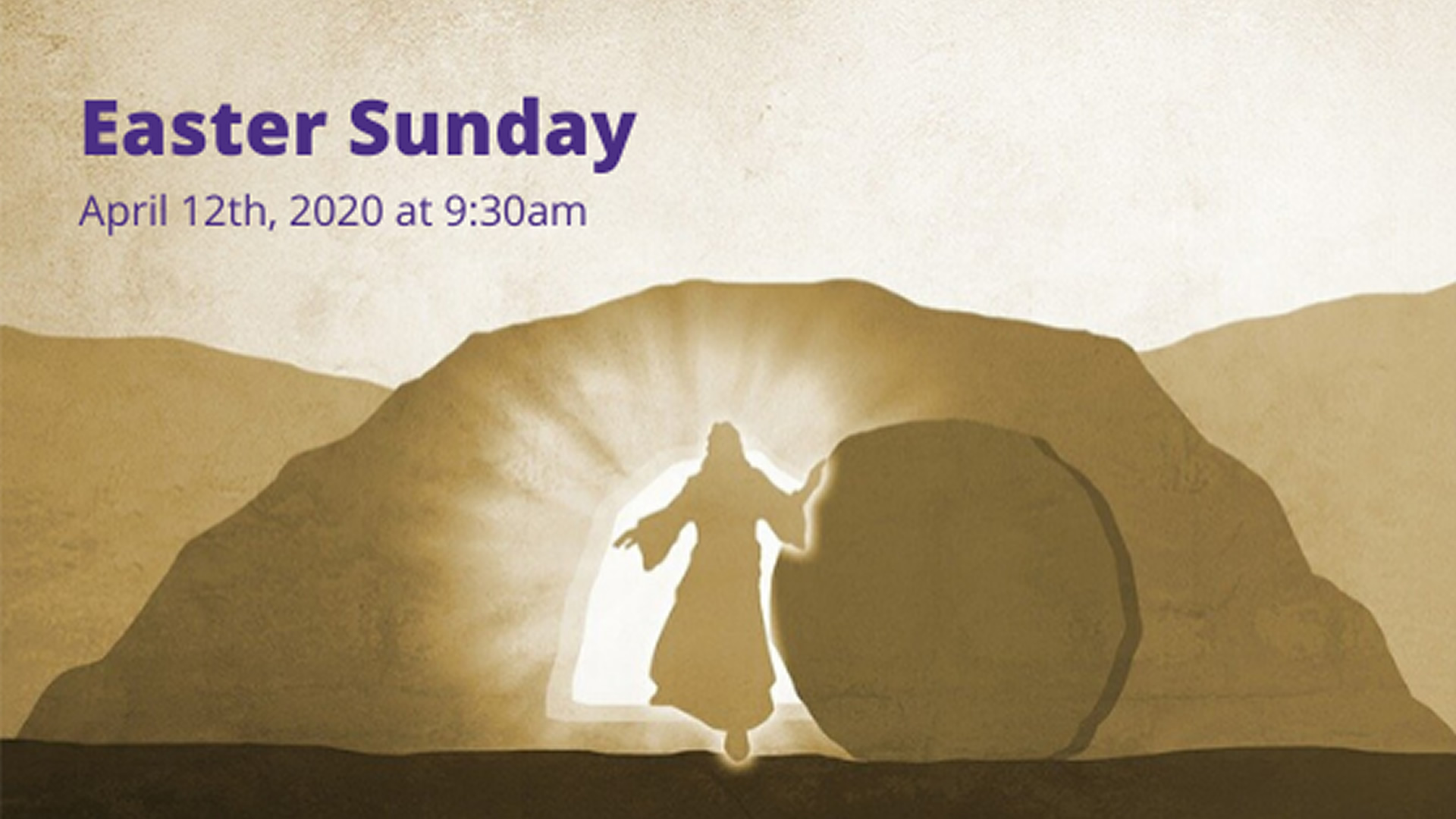 Easter Sunday - Live-streamed from the Catholic Diocese of Cleveland - Sunday, April 12th at 09:30am
