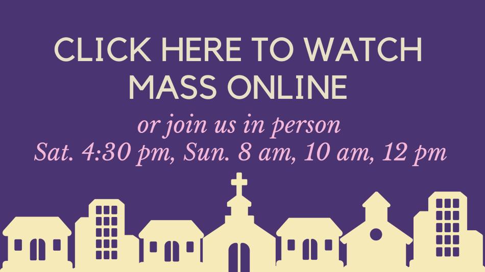 November 29th Mass