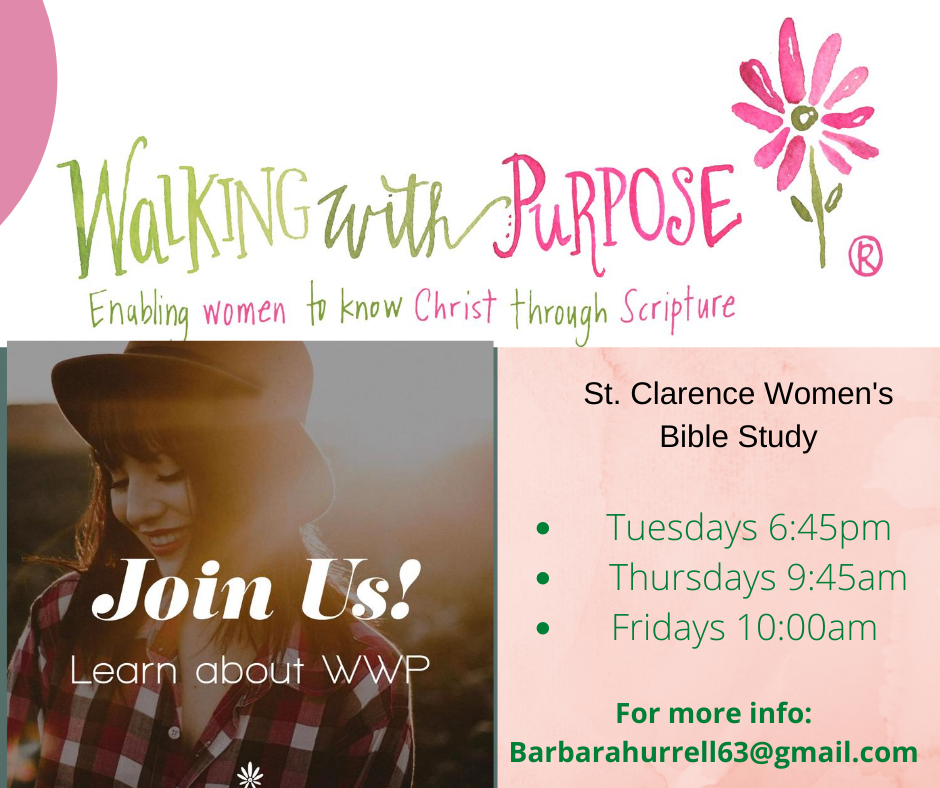 Walking With Purpose - Women's Bible Study