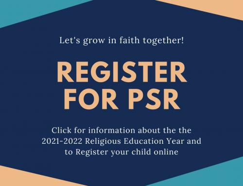 Register for PSR