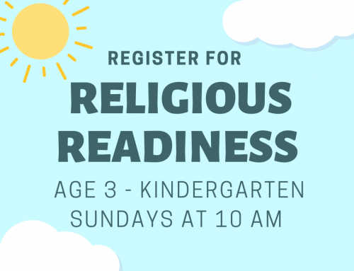 Preschool and Kindergarteners, we can't wait to see you!